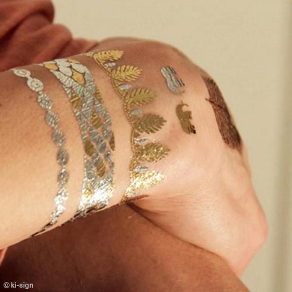 Tatouage temporaire Tattoo Chic - Plumes - 18 tattoos - Photo n°3