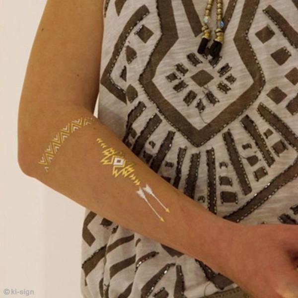 Tatouage temporaire Tattoo Chic - Plumes - 18 tattoos - Photo n°6