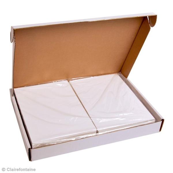 Carton plume A4 blanc - 3 mm - 1 planche - Photo n°2