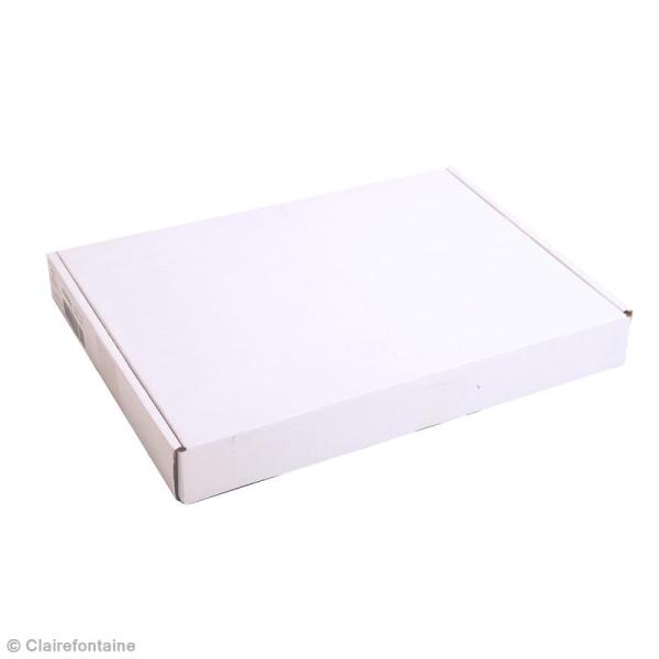 Carton plume A4 blanc - 3 mm - 1 planche - Photo n°3