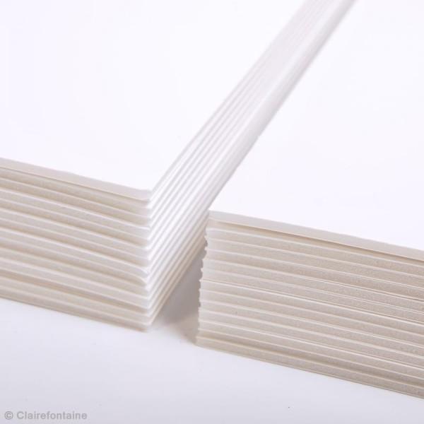 Carton plume A4 blanc - 3 mm - 1 planche - Photo n°4