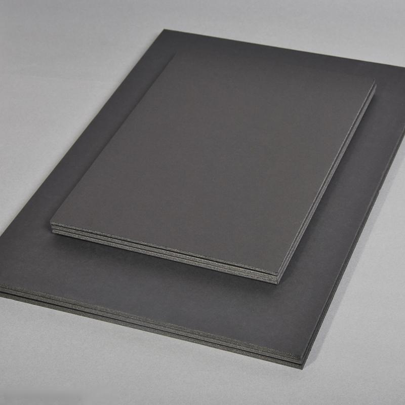 carton plume a4 noir 5 mm 1 planche carton plume creavea. Black Bedroom Furniture Sets. Home Design Ideas