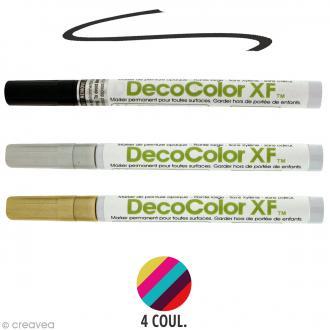 Marqueur peinture pointe fine Deco Color XF