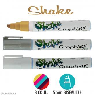 Graph'it shake Marqueur à encre pigmentée pointe large