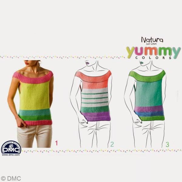 Fil DMC Natura Yummy Colors - 50 gr - Photo n°4
