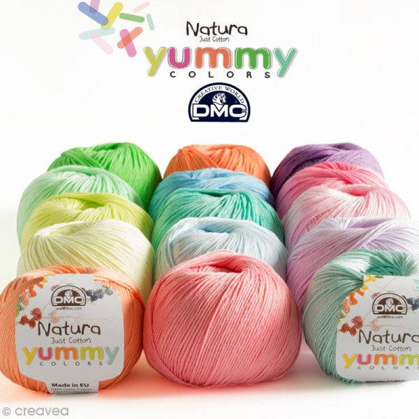 Fil DMC Natura Yummy Colors - 50 gr - Photo n°1