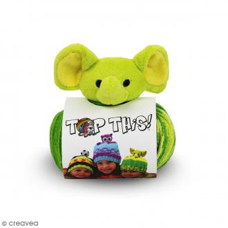 Kit Top This DMC - Bonnet enfant à peluche Éléphant