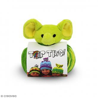 Kit Top This DMC - Bonnet enfant à peluche Éléphant