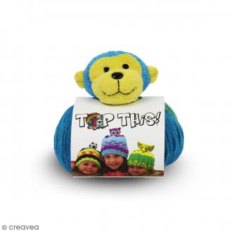 Kit Top This DMC - Bonnet enfant à peluche Singe