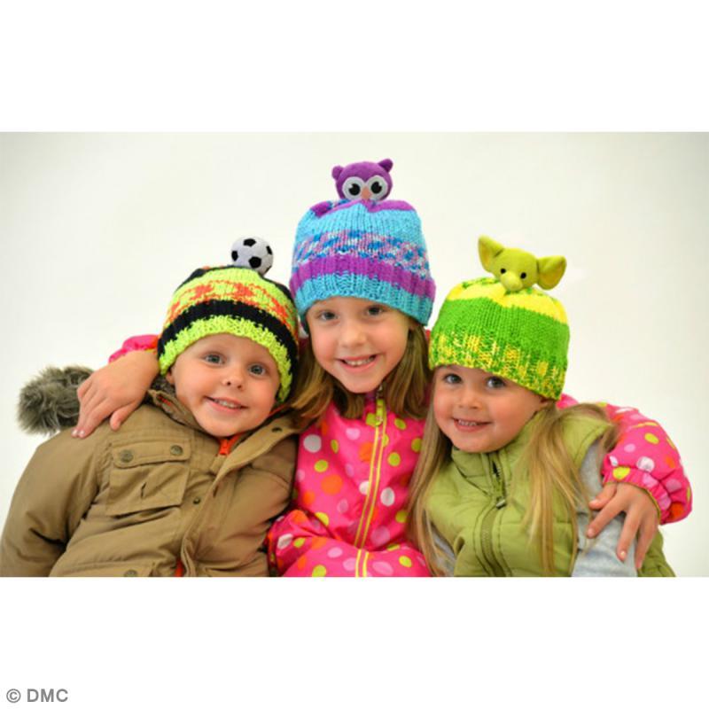 Kit Top This DMC - Bonnet enfant à peluche Ballon - Photo n°3