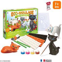 Coffret Eco-moulage Popsine - Les chats et chatons
