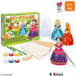 Coffret Eco-moulage Popsine - Les princesses