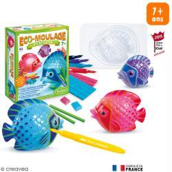 Coffret Eco-moulage Popsine - Les poissons lune