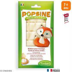 Recharge Eco-moulage Popsine - Blanc - 110 g