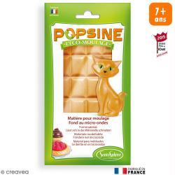 Recharge Eco-moulage Popsine - Marron biscuit - 110 g