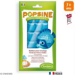 Recharge Eco-moulage Popsine - Bleu turquoise - 110 g