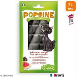 Recharge Eco-moulage Popsine - Noir - 110 g
