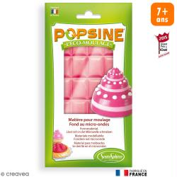 Recharge Eco-moulage Popsine - Rose bonbon - 110 g