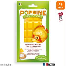 Recharge Eco-moulage Popsine - Jaune d'or - 110 g