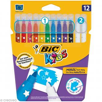 Feutres magiques - Bic Kids - 12 feutres