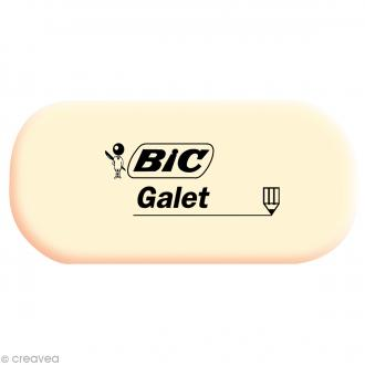 Gomme Galet Bic - 5,7 x 2,7 cm