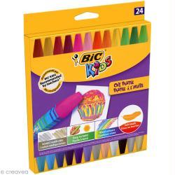 Pastel à l'huile - Bic Kids - 24 pcs