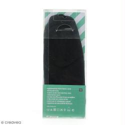 Doublure polaire pour bonnet en tricot - Noir - 56-60 cm