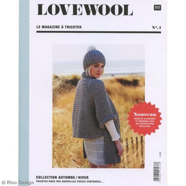 Livre magazine à tricoter Rico Design - Collection Automne/Hiver - 80 p - Photo n°1