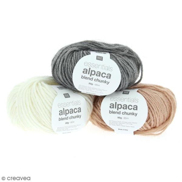 Laine Rico Design - Essentials Alpaca blend - 50 gr - Photo n°1
