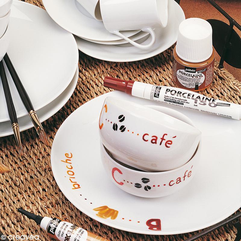 feutre porcelaine p150 pointe normale feutre porcelaine creavea. Black Bedroom Furniture Sets. Home Design Ideas