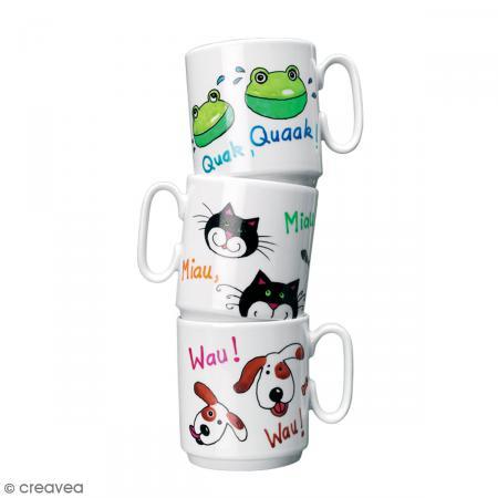 Feutre porcelaine Porcelain painter 1-2 mm - 34 couleurs - Photo n°2