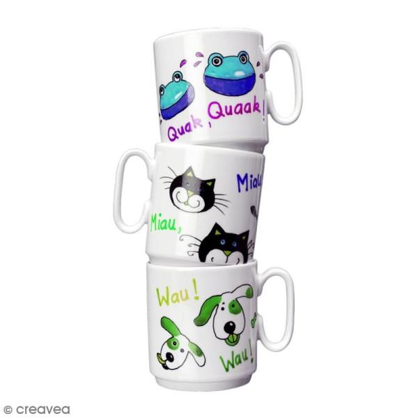 Marqueur porcelaine Porcelain painter 3-4 mm - Photo n°2