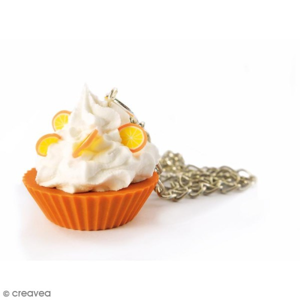Mini moule silicone souple DTM - Cupcake - 2 formes - Photo n°3