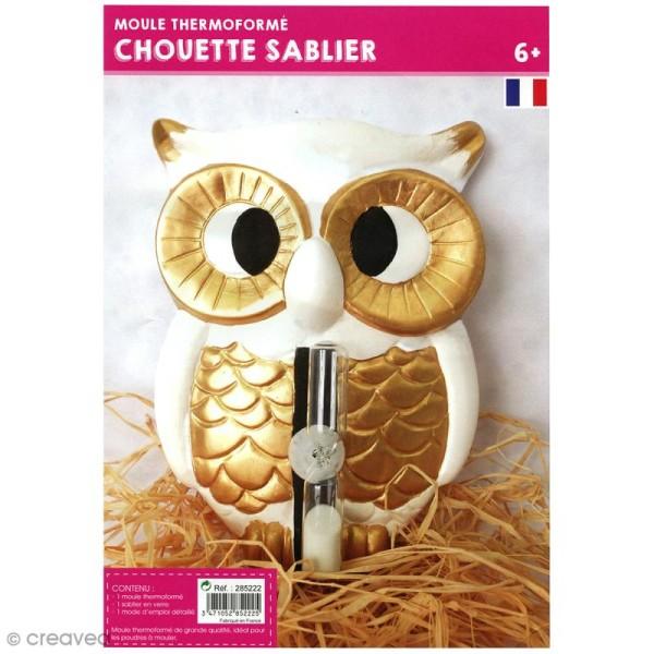Moule thermoformé Chouette - 17 x 12 cm - Photo n°3