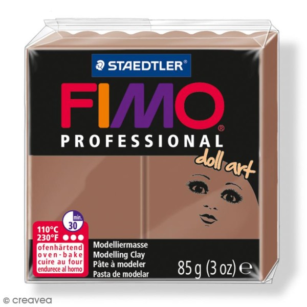 Pâte Fimo Professional Doll art - Nougat 78 - 85 g - Photo n°1