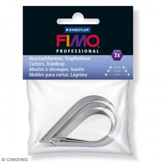 Emporte-pièces Fimo Goutte - 3 pcs