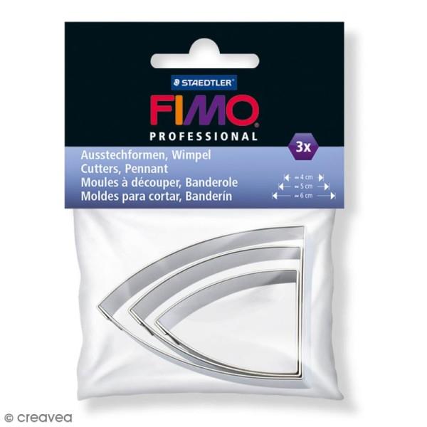 Emporte-pièces Fimo Banderole - 3 pcs - Photo n°1