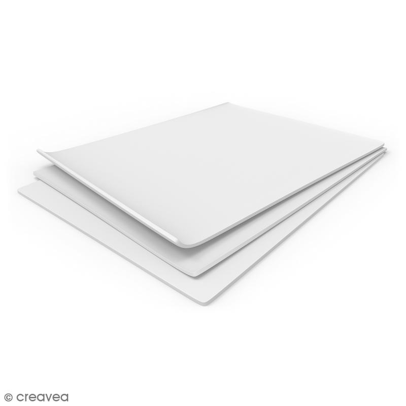 Tapis de modelage en silicone blanc - 23 x 33 cm - Photo n°2