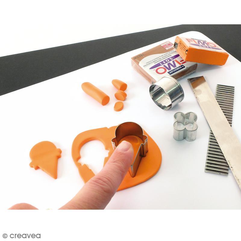 Tapis de modelage en silicone blanc - 23 x 33 cm - Photo n°4