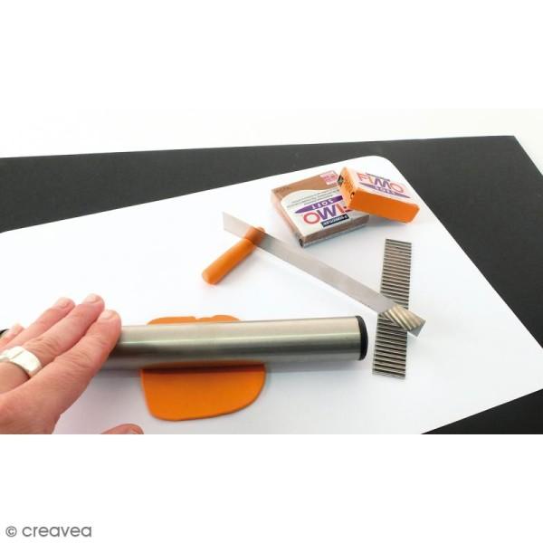 Tapis de modelage en silicone blanc - 23 x 33 cm - Photo n°5