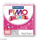 Fimo Kids Rose pailleté 262 - 42 g - Photo n°1