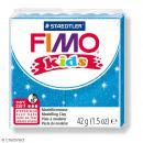 Pâte Fimo Kids Bleu pailleté 312 - 42 g - Photo n°1