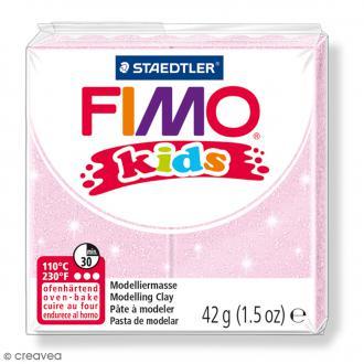Fimo Kids Rose perle 206 - 42 g
