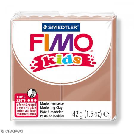 Fimo Kids Marron clair 71 - 42 g - Photo n°1