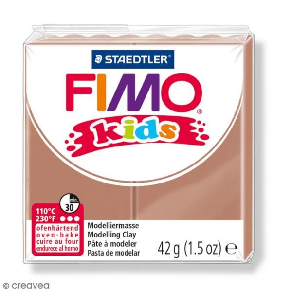 Pâte Fimo Kids Marron clair 71 - 42 g - Photo n°1