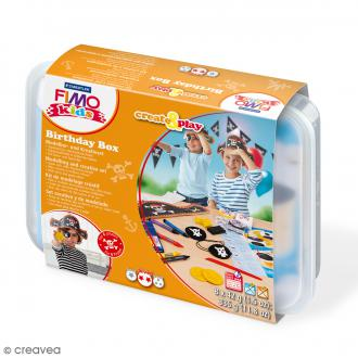 Coffret modelage Birthday Box pour enfant - Pirates - 27 pcs