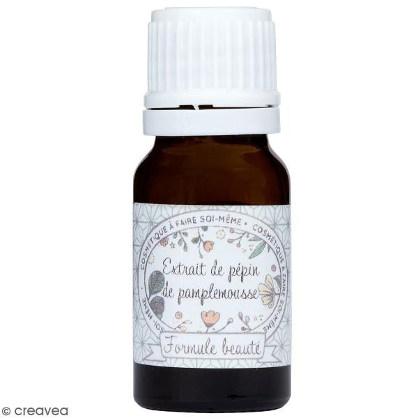 Conservateur naturel - Extrait de pépin de pamplemousse - 10 ml - Photo n°1