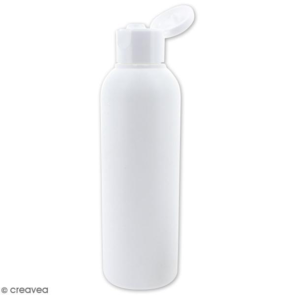 Flacon capsule blanc - 100 ml - Photo n°2