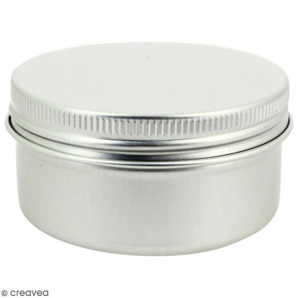 Pot aluminium - 50 ml - Photo n°1