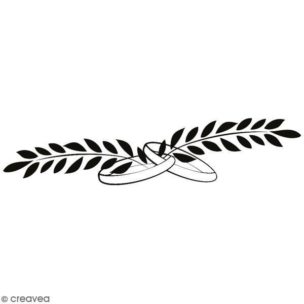 Tampon en bois Aladine - Alliance - 9 x 3 cm - Photo n°1